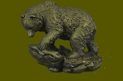 Vienna Bronze Little Bear Sculpture Brown Masterpiece Figurine Hand Made
