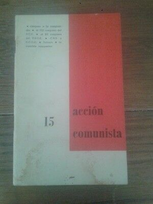 ACCIÓN COMUNISTA. REVISTA MARXISTA INDEPENDIENTE nº 15 (Alemania, 1973)