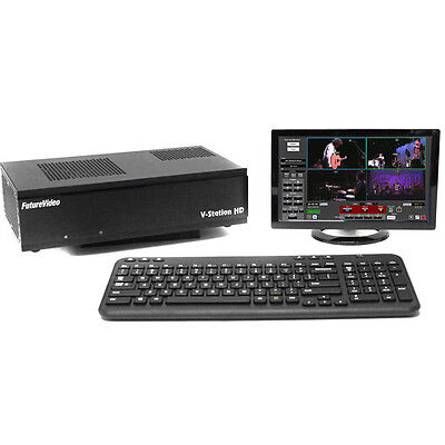 V-Station HD Pro4 Plus Multi Channel Recorder, Streaming, Live Production System