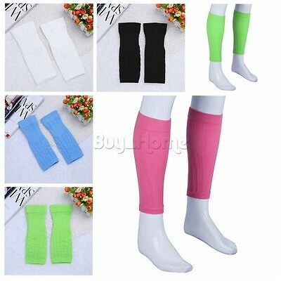 1 Pair Outdoor Exercise Calf Support Compression Leg Sleeve Sports Running Socks