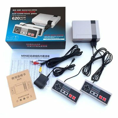 620 in 1 games classic mini Console with 2 Controls Retro Entertainment system