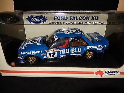 "1/18 Dick Johnson ""the Rock"" Ford Xd Falcon 1980 Bathurst"