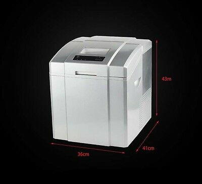 New Small Commercial Desktop Coffee Bar Quick Ice Maker Portable Automatic &
