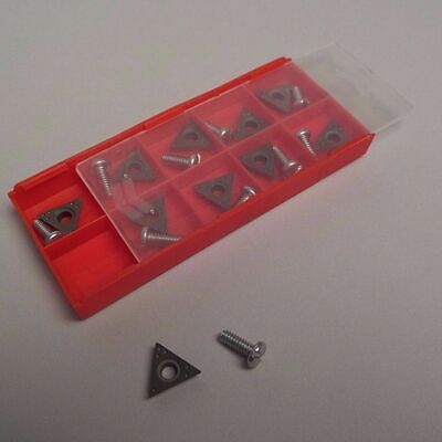 10 PIECE - Brake Lathe Carbide Bits Positive Rake for AMMCO, 40410