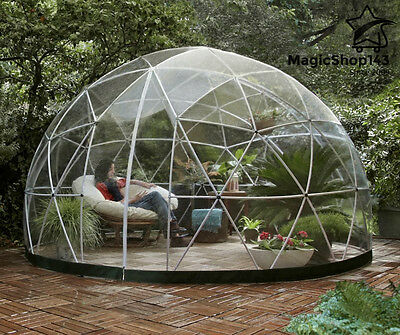 BUBBLE TENT TRANSPARENT Stargazer Dome Garden Igloo Patio Geodesic Gazebo  Canopy