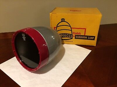 Kodak Model A Darkroom Lamp Wratten Photography Safelight Light w/  Box