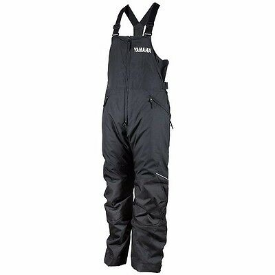 Womens Yamaha Adventure Snowmobile Winter Snow Pant Bib Smw-12Bad-Bk-14