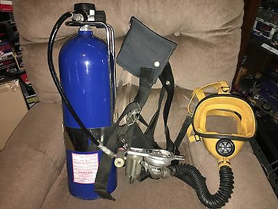 NEW Self Contained Breathing Apparatus W/ Luxfer Tank