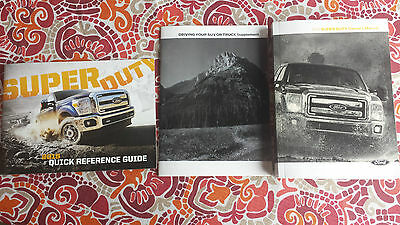 2015 ford super duty owner manual