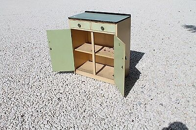 vintage retro kitchen cabinet cupboard formica top mid century