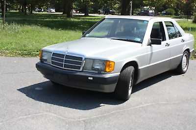 1991 Mercedes-Benz 190-Series  One owner very low mileage 1991 Mercedes Benz 190 E in perfect conditions.