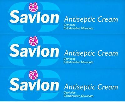 Savlon Antiseptic Cream 100g x 3 Packs