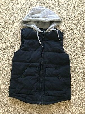 Indie & Co Boys Cotton Puffer Vest in Size 12