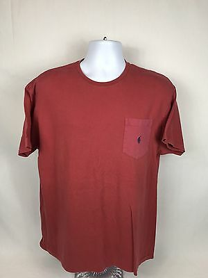 Men's Vintage Polo Ralph Lauren Short Sleeve Pocket T-Shirt Size Medium