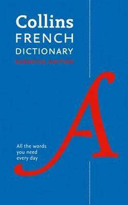 NEW Collins French Essential Dictionary By Collins Dictionaries Paperback
