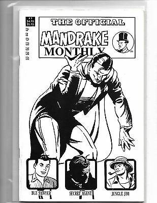The Official Mandrake Monthly #1 Lee Falk Pioneer Press