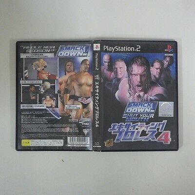 WWE Smack Down 4 Shut Your Mouth PS2 PlayStation 2 JP GAME/s38