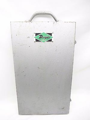 Vintage Dwyer Controls & Gages Portable Manometer with Case AS-IS