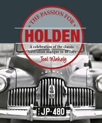 NEW The Passion for Holden By Joel Wakely Hardcover Free Shipping