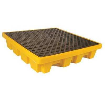 "ULTRATECH 1230 Drum Spill Containment Pallet,51"" L"