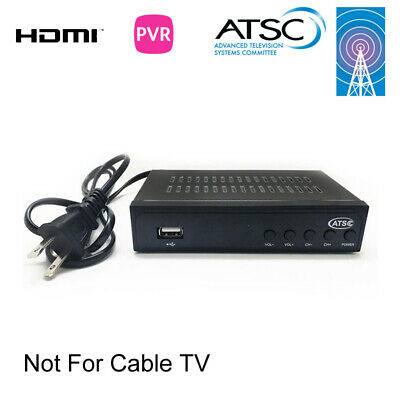 ATSC Digital TV Converter Box and Media Player w/ Recording PVR Function / HDMI