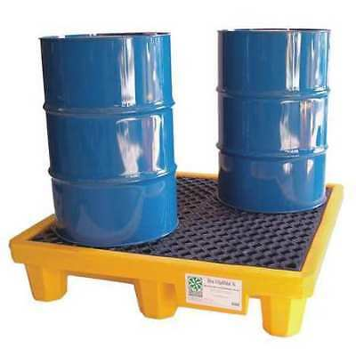 "ULTRATECH 1001 Drum Spill Containment Pallet,53"" L"