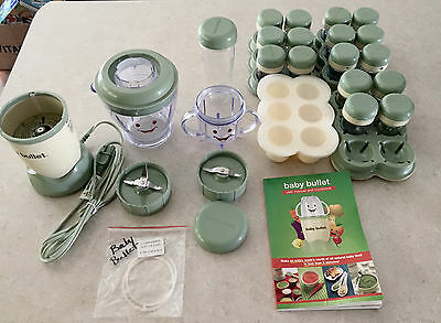 Baby Bullet Food System by Magic Bullet Baby Food Maker Exc Condition