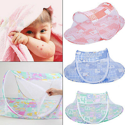 Portable Foldable Baby Nursery Mosquito Tent Travel Infant Bed Net Cots & Cribs
