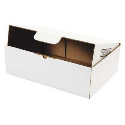 "DUCK 1147639 Ship Box,Self Lock,13x9"",White,PK25"