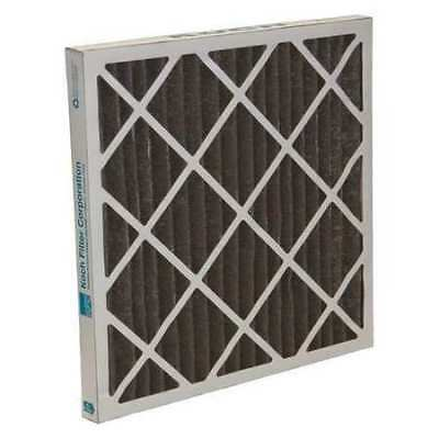 "AIR SYSTEMS INTERNATIONAL ASI-242C Pleated Odor Removal Filter, 24""x24""x2"", Box"