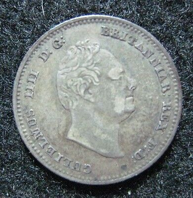 1836 Great Britain 4 Pence Groat Silver Higher Grade Problem Free KM 723