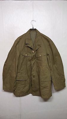 RARE 1940'S Vintage WW2 Japan Navy Marine Battle Jacket Military Uniform Clothes