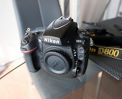 Nikon D800 36.3 MP Digital SLR Camera - Black (Body Only)