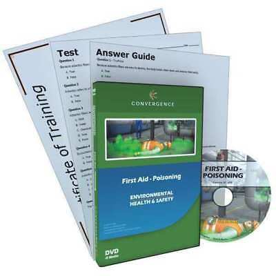 Poisoning Training,First Aid,DVD,12 min.