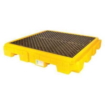 "ULTRATECH 9631 Drum Spill Containment Pallet,62"" L"