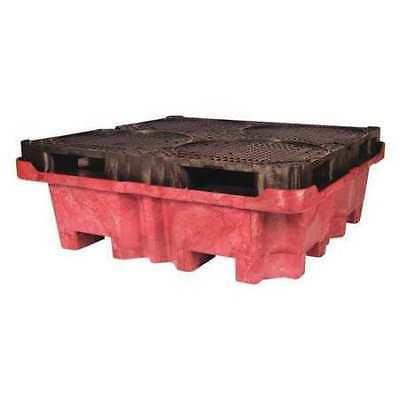 "ULTRATECH 802 Drum Spill Containment Pallet,51"" L"