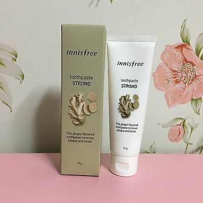 INNISFREE TOOTHPASTE STRONG - GINGER FLAVOR 50g
