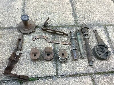 Vintage bike bits as is (one marked Kay Bet?)