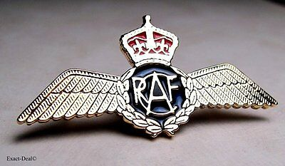 RCAF Canada Royal Canadian Air Force Golden Pilot Wing 1939 -1945 World War 2