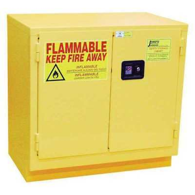 JAMCO BK22 Flammable Safety Cabinet,22 Gal.,Yellow G9827885