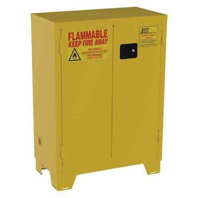 JAMCO FS28 Flammable Safety Cabinet,28 Gal.,Yellow G9827781