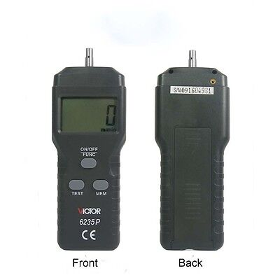 Digital Laser Contact &Non-contact Photo Tachometer RPM Laser Tach Speed Counter