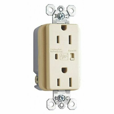 LEGRAND 5262ISP 15A Receptacle,Straight Blade Type, 5-15R