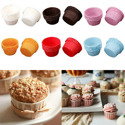 Cupcake Muffin Cases Quality Paper Baking Cups Anti High Temperature Multicolor
