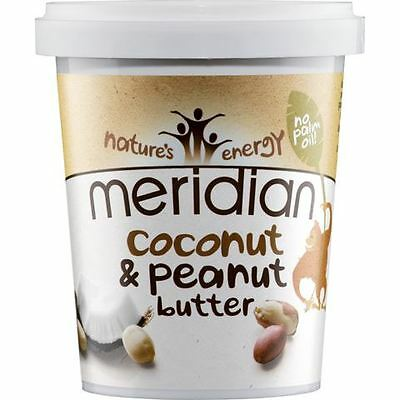 Meridian Foods Natural Coconut & Peanut Butter 454g