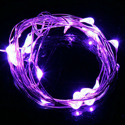2M 20 LED Copper Wire String Bottle Cork Lights Christmas Party Bar Decorative