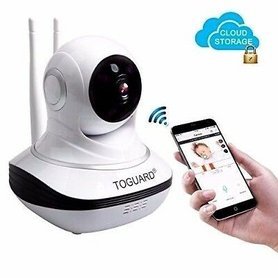 Baby Monitor Camera Cloud Storage HD 720P Nano IR LED Night Vision 2 Way Talk