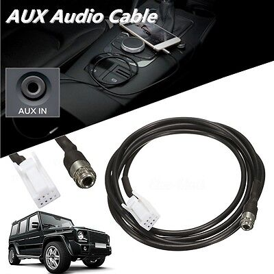 1.5m AUX Audio Cable Cord Female Panel Mount Socket For Suzuki Grand Vitara SX4