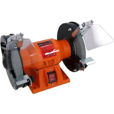 Heavy Duty 150W 150mm Bench Grinder Sander Sanding Polisher Machine CT3096