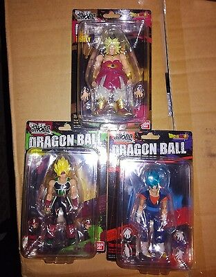 Bandai Shodo Dragonball Z Vol 5 Dragon Ball Broly + Vegetto + Barduck Saiyan